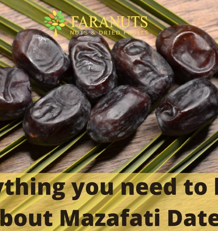 Everything you need to know about Mazafati Dates.